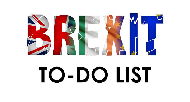 The Brexit to-do list